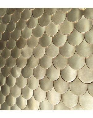 Dune Dune Sirena Gold D896 Mosaic Tile
