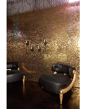 Dune Dune Metallic Gold Mosaic Tile