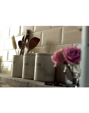 Luxury Tiles Beige Bevelled Brick Metro tile