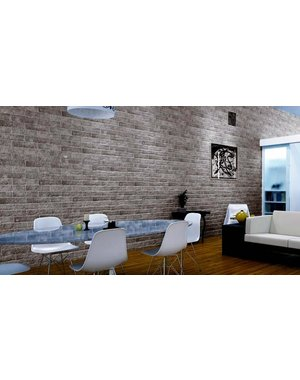 Luxury Tiles Murrano Gris Brick Wall and Floor tile