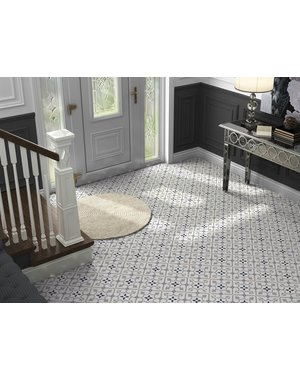 Luxury Tiles Vintage Grey Pattern Tile