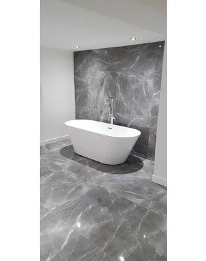Luxury Tiles Velar Grey Polished Marble Effect Tile