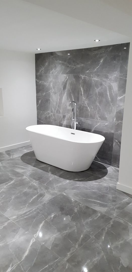 Polished Marble Effect 800x800mm Tile