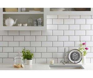 Classico Blanco White Metro 200 X 100 Tile Luxury Tiles