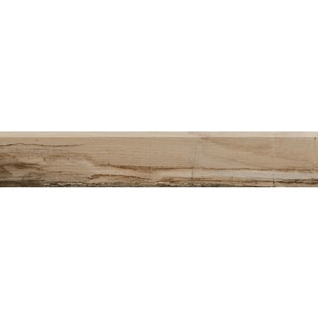 Luxury Tiles Natural Timber wood effect skirting tile 570 x 100mm