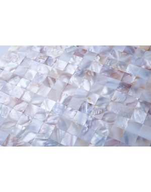 Luxury Tiles Mother of Pearl Oyster White Mosaic Tile