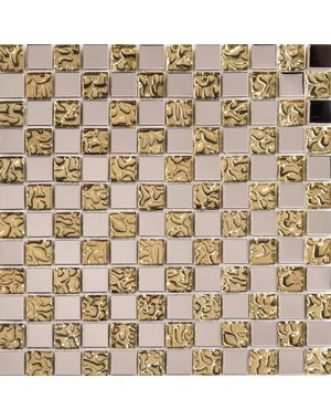 Luxury Tiles Gold Leopard Mosaic Tile