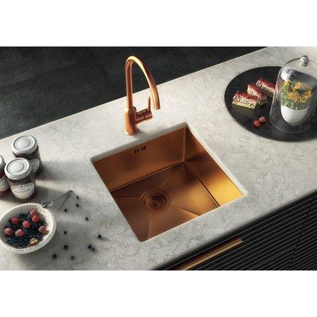 Ellsi Ellsi Elite Copper Undermount Stainless sink with waste