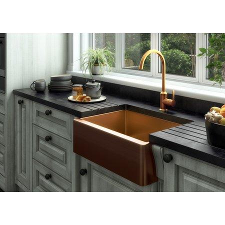 Luxury Tiles Midas Statement Single Bowl Copper Kitchen Sink