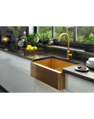 Ellsi Midas Statement Gold Kitchen Sink