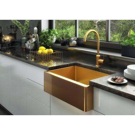 Ellsi Midas Statement Gold Kitchen Sink
