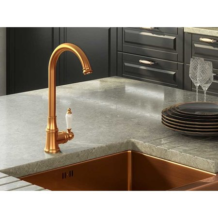 Ellsi Ellsi Elect Traditional Copper Mixer Tap