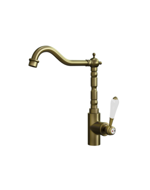 Ellsi Ellsi Empire Traditional Brass Mixer Tap