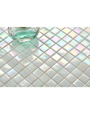 Luxury Tiles Pearl White Mosaic 330x330mm Tile