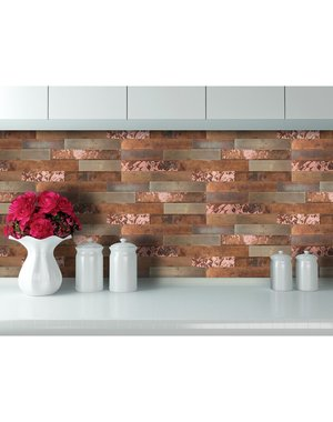 Luxury Tiles Rustic Bronze Self Adhesive tile