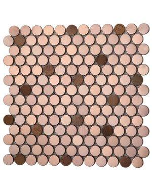 Luxury Tiles Bronze Hive Mix Mosaic Tile