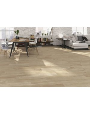 Luxury Tiles Chelsea Beige wood effect floor tile