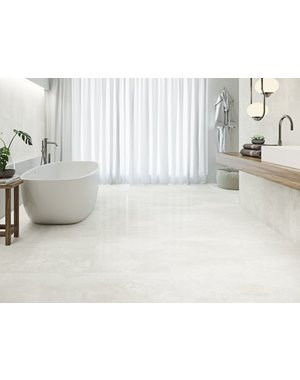 Luxury Tiles Burghley Stone Washed White 60x60cm Floor Tile