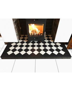 Luxury Tiles Victorian Black Quarry Tile