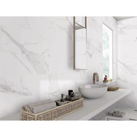 Luxury Tiles Carrara Parka Matt Marble Tile 30x60cm