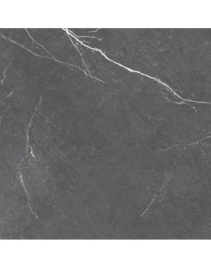 Luxury Tiles Dark Gris Grey Marble Effect 60x60cm Tile