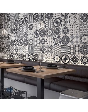 Luxury Tiles Geo feature pattern wall and floor tile
