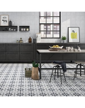 Luxury Tiles The Modern Flower Pattern Floor tile