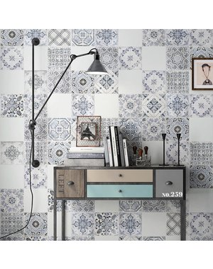 Luxury Tiles The Moroccan inspired pattern 223x223mm tile