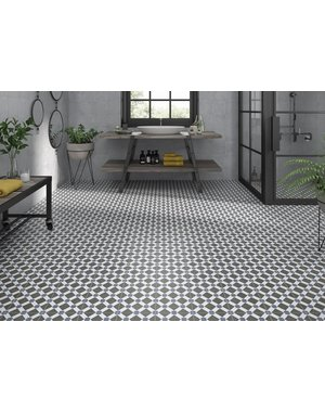 Luxury Tiles Counties Essex Floor and Wall Pattern Tile 200x200mm