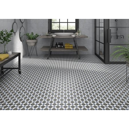 Luxury Tiles Counties Essex Floor and Wall Pattern  Porcelain Tile 20cmx20cm
