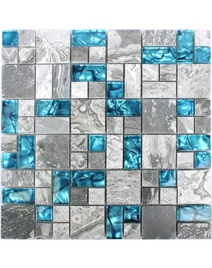 Luxury Tiles Natural Lapis Lazuli Mosaic Tile