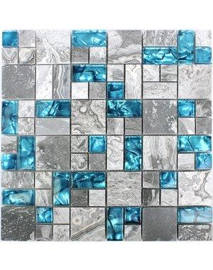 Luxury Tiles Natural Lapis Lazuli Mosaic Tile