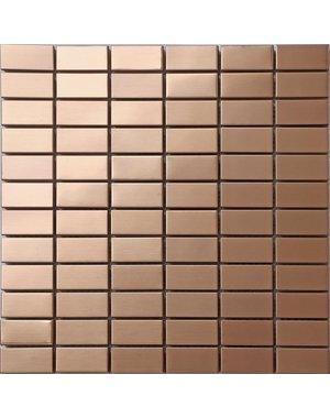 Luxury Tiles Metallic Stainless Steel Haze Mosaic Tile