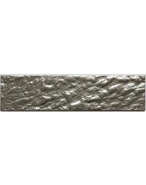 Luxury Tiles Silver Crackle Glass Metro tile 7.5x30cm