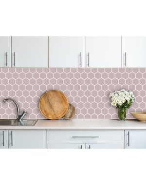Luxury Tiles Hex Lilac Mosaic Sheet