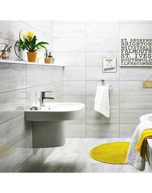 Luxury Tiles Grey Travertine Ceramic Wall Tile