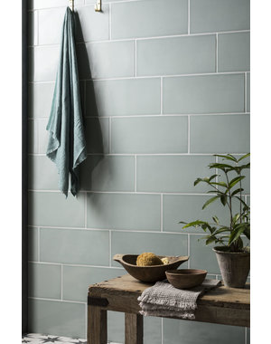 Luxury Tiles Vintage Theresa Teal Ceramic Metro Tile