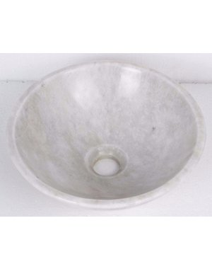 Luxury Tiles Perseus White Natural Stone Bathroom Wash Basin Sink