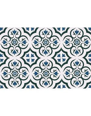 Luxury Tiles Monarch Blue Pattern Tile 330x330mm
