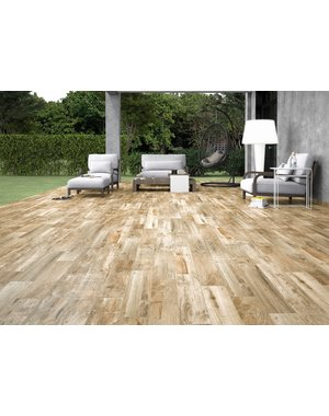 Luxury Tiles Eld Natural Warm Oak Wood Effect Tile