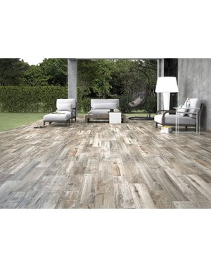 Luxury Tiles Eld Natural Grey Oak Wood Effect Tile