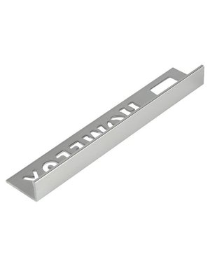 HomeLux Homelux aluminium silver tile trim 10mm