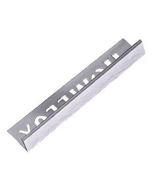 HomeLux Homelux aluminium stainless steel effect tile trim 12.5mm