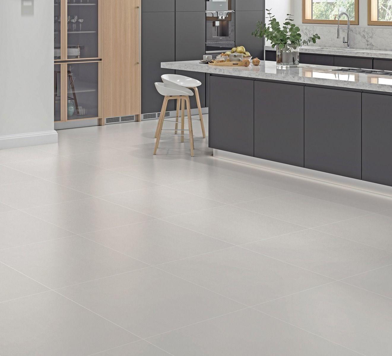 Oslo Grey Matt 600 X 600mm Porcelain Floor Tile Luxury Tiles