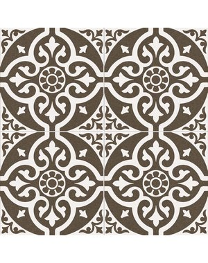 Luxury Tiles Royal Crest Floor Pattern Tile 45x45cm