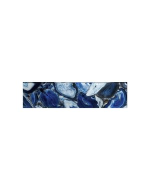 Luxury Tiles Seychelles Glass Blue 75x300mm Metro Tile