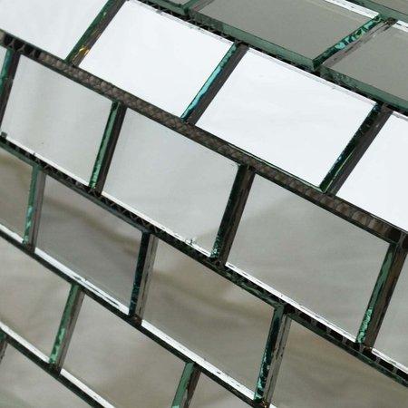 Luxury Tiles Mirrored Brick Mosaic Tile 315x315mm