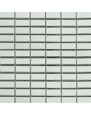 Luxury Tiles Mirrored Mosaic Straight Brick Tiles 31.5x31.5cm