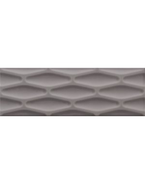 Luxury Tiles Luxe Grey Decor Metro Tile 30x10cm