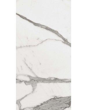 Luxury Tiles Verona Carrara Polished Marble effect Wall and Floor Tile 600x300mm